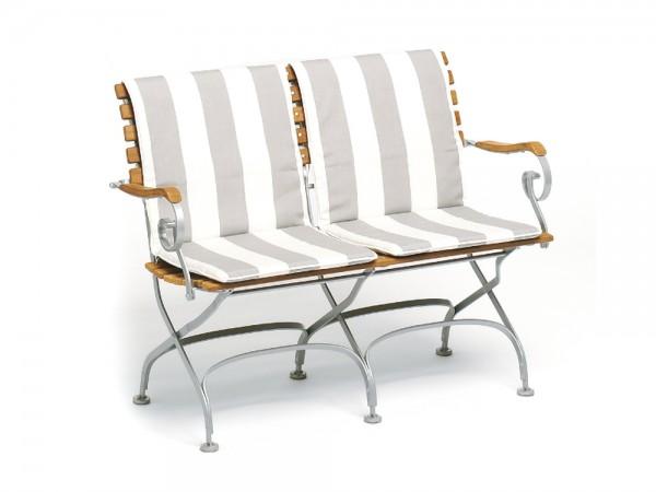 Weishäupl Classic Sitz-Rückenpolster 2-Sitzer Bank